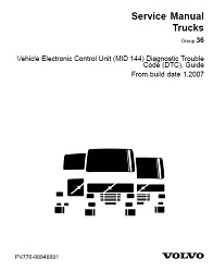Volvo Truck MID 144 DTC Guide