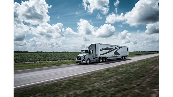 Volvo Truck Summer Clouds