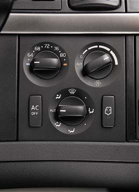volvo truck ac and heating system
